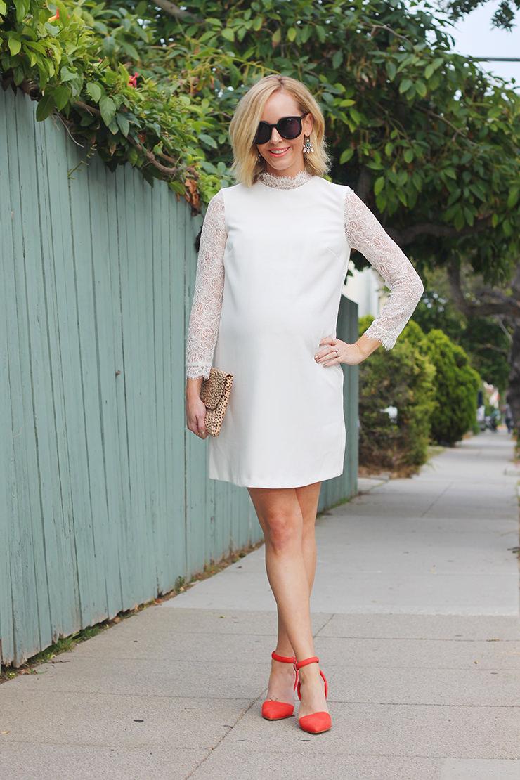 Matenrity Style: Victorian Style Dress + My Favorite Maternity Dress ...