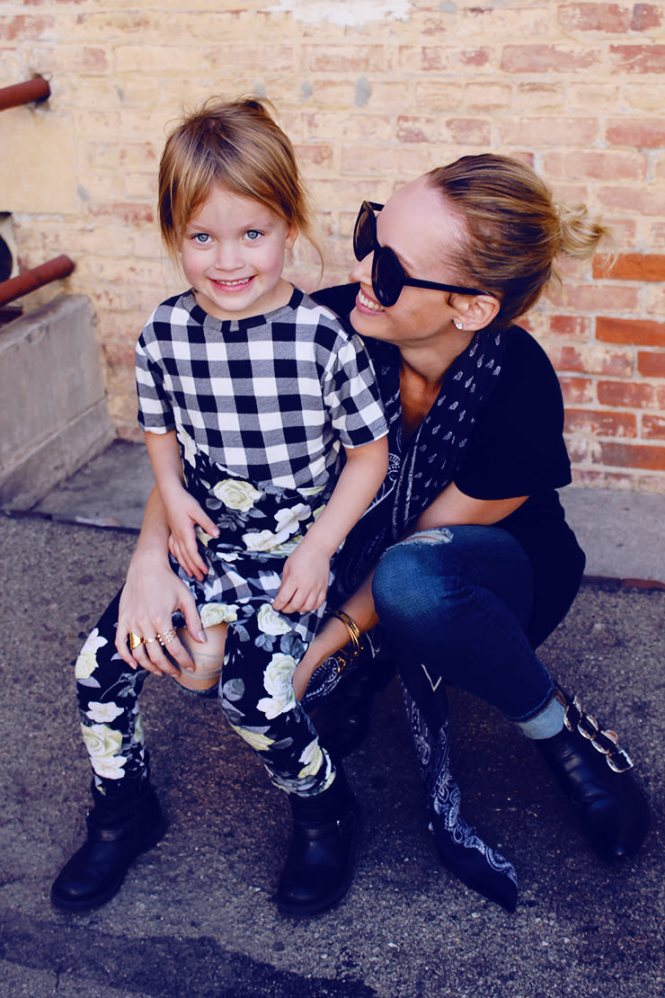 mother daughter style