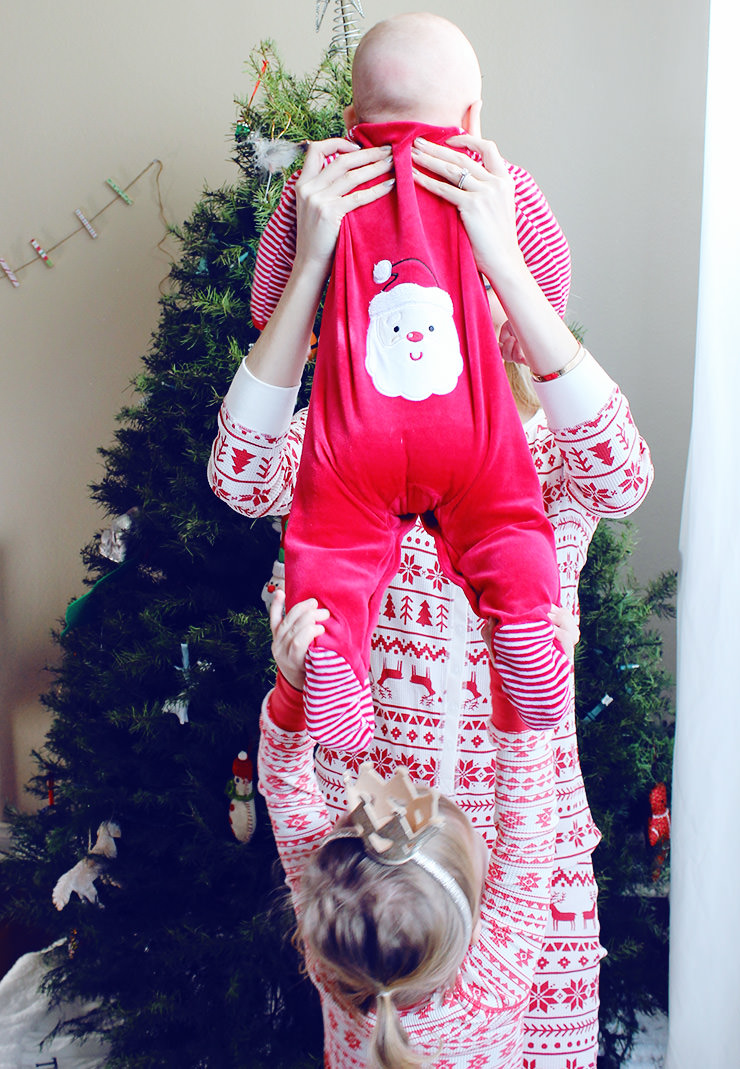that will be our tradition little me my first christmas pajamas