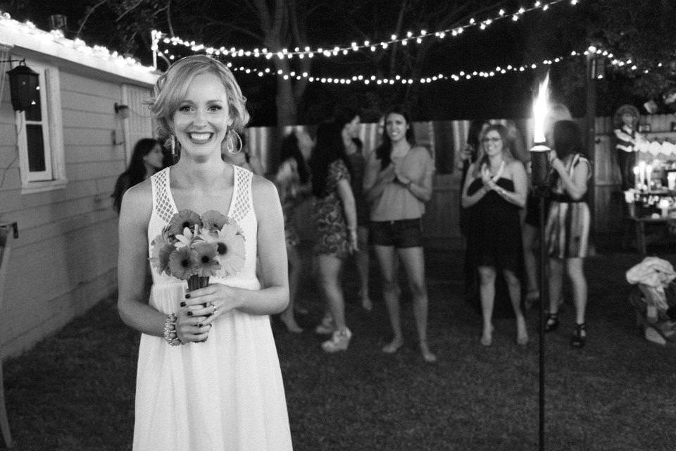 Carnations at wedding