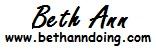 Beth Ann doing Logo