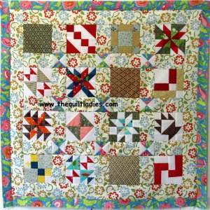 Make it Special Quilt Pattern four inch by four inch quilt blocks