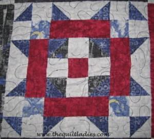 Free Graduation quilt block pattern