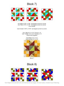 Sample Quilt Block pattern from One Quilt Block made Twelve Ways quilt book by The Quilt Ladies