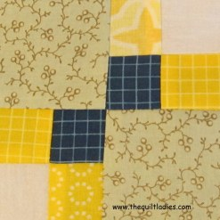 Autumn Tints Quilt Pattern Block