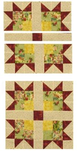 Free Two Block Quilt Pattern by The Quilt Ladies