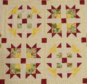 Free Two Block Quilt Pattern
