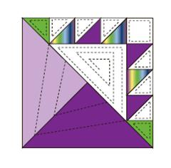 Free Quilt block Pattern from The Quilt Ladies Book