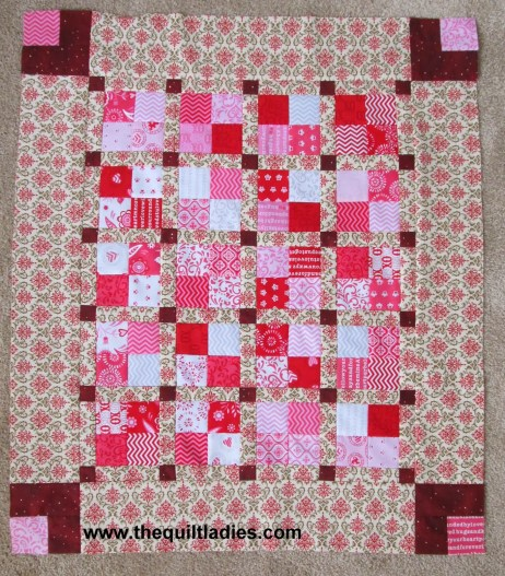 Four Patch Quilt Table Topper Archives