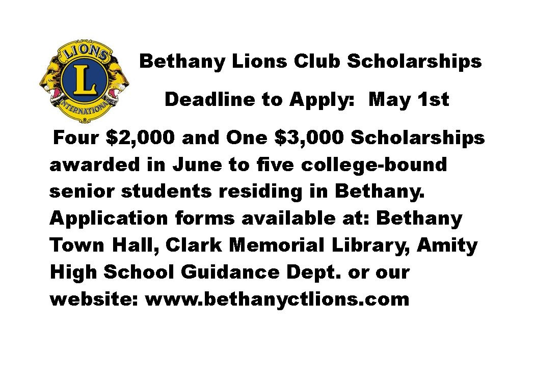 Bethany CT Lions Club