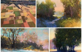 Bethany Fields Pastel Paintings