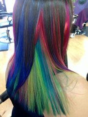 fun and funky fashion hair color