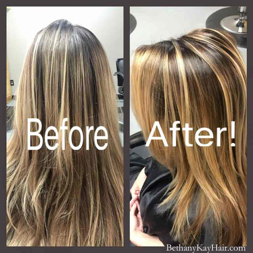 Before And After Hair Cuts Before And After Hair Color