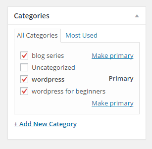WordPress for Beginners by Bethany Opp Web Studio Categories Module Image