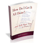 A small book to help you accomplish big things by helping you discern and honor your priorities, and learn strategies for time management.