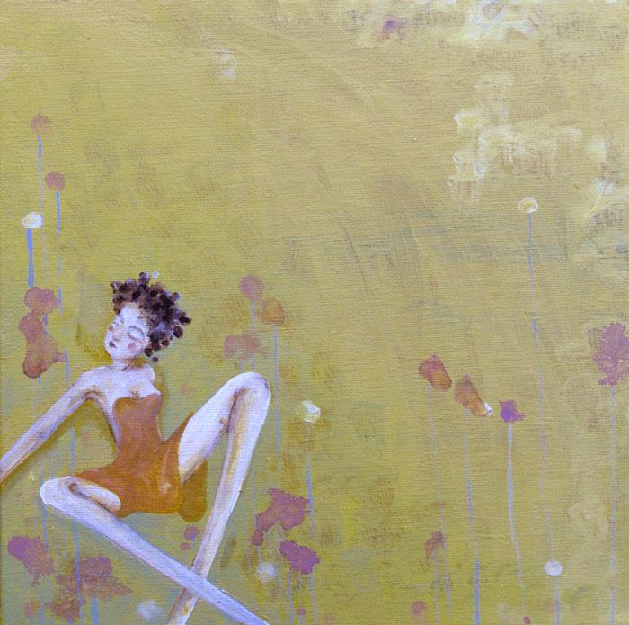 """Acrylic on Canvas, 12""""x12"""""""