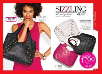 Avon Colorful Chic Handbag