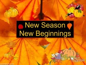 New Season New Beginnings
