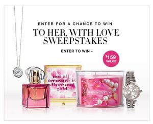To Her, With Love Sweepstakes April 2017