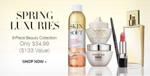 Avon Spring Luxuries Beauty Collection Campaign 8 2017