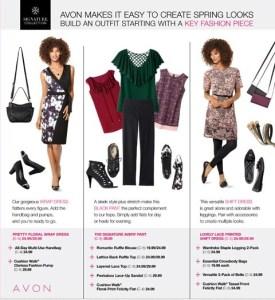 Avon Spring Fashion 2017 Part 1
