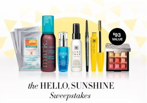 the Hello Sunshine Sweepstakes