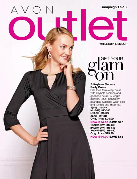 Avon Outlet Book Campaign 17/18 2017