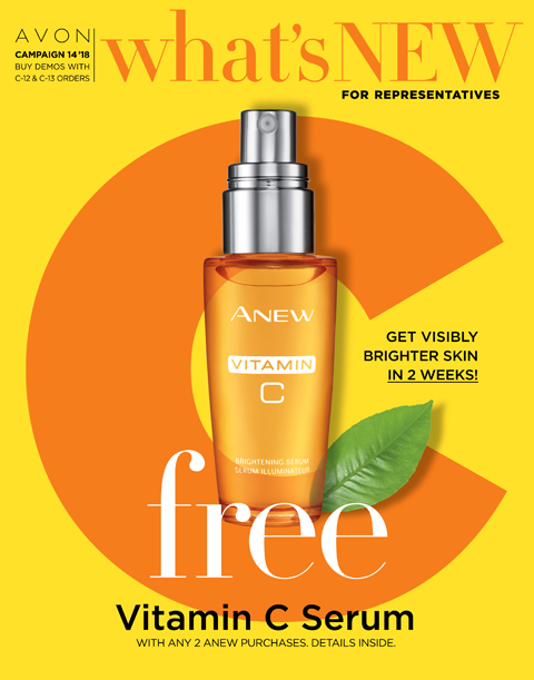 Avon What's New C142018 | Be the Best You Can Be Beauty Blog