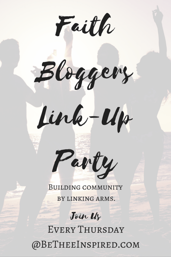 "Calling all fellow faith bloggers, and viewers alike! Come and join the fun, every Thursday at 9am, @betheeinspired.com. Connect with other like-minded , spirit-filled writers in a safe place to share our faith, gain support, and build community. Can't wait to ""link' arms with you! #inspiration #link-up #faithwriters #christianwomen #bloggingcommunity #sisterhood"