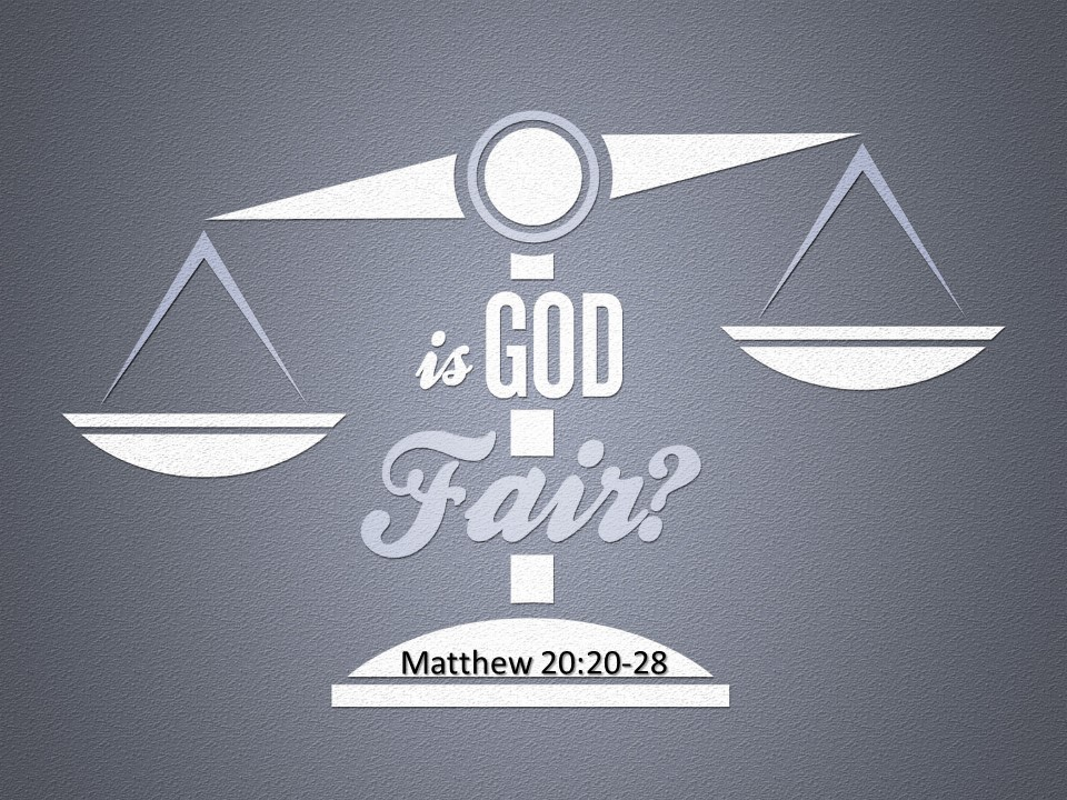 Is God Fair?