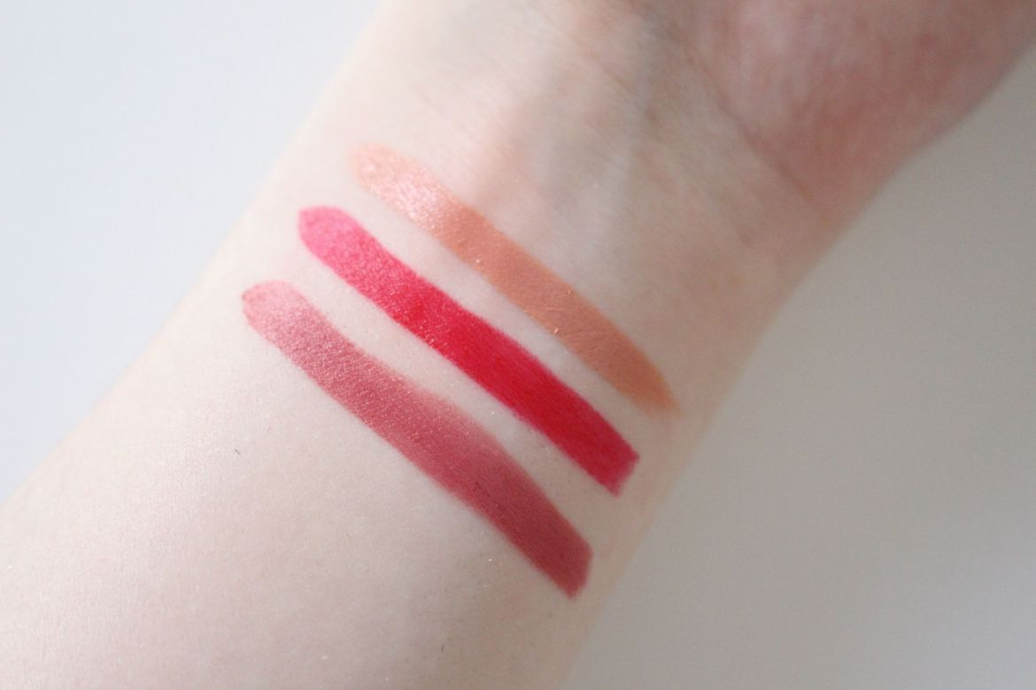Charlotte Tilbury Hot Lips Swatches