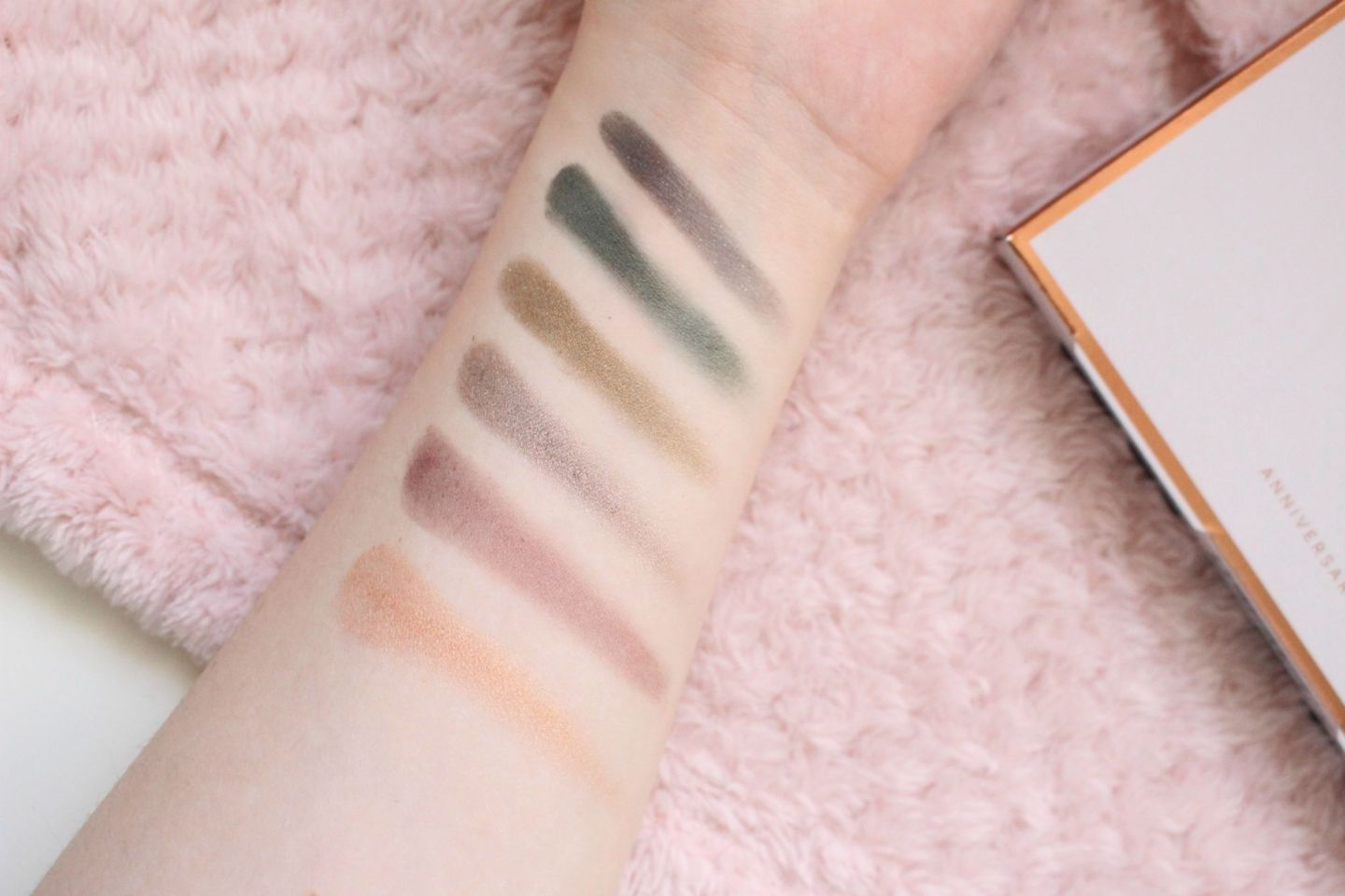 RHW for Autograph Collection Anniversary Palette Swatches