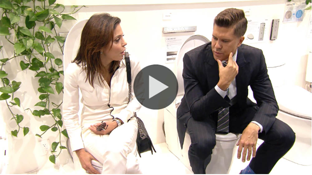 Bethenny Frankel Falls in Love with a Smart Toilet that Washes 'Your Wazzoo'