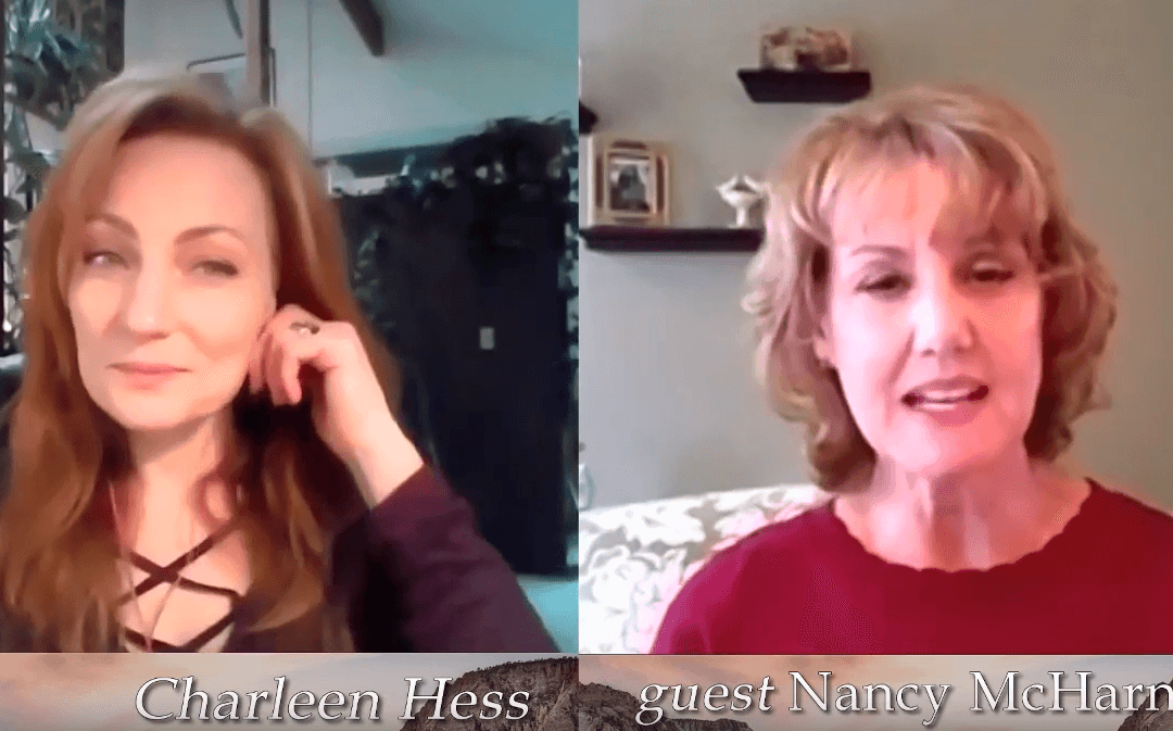 Nancy on the Living on Your Hearts Edge Radio Show.