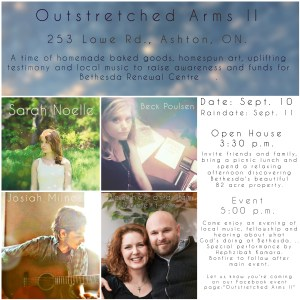 Outstretched Arms II - Official Poster