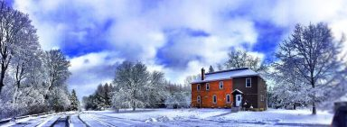Main Retreat House - Winter