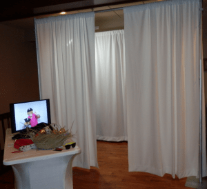 Be The Star Photo Booth display