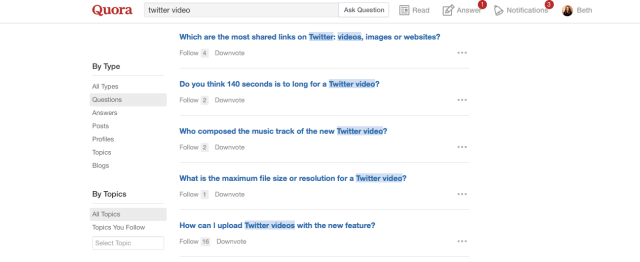 Quora content distribution strategy
