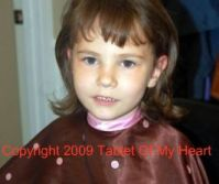 Annabelle's first haircut
