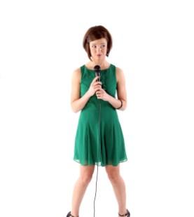 girl publicly speaking