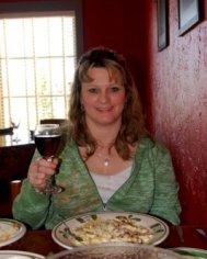 me at Olive Garden November 2009