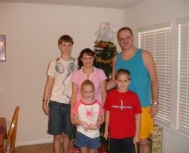Pat, Kim, Caleb, Megan, Nathaniel