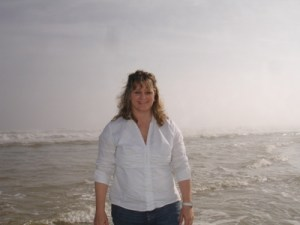 Beth Jones on Jacksonville, FL beach