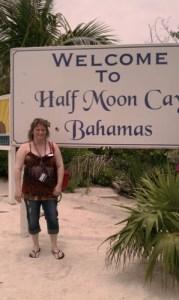 Beth Jones, Half Moon Cay, Bahamas