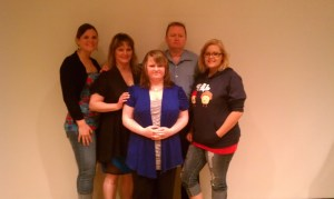 Ray and I with our 3 beautiful daughters, Heather, Leah, & Eden