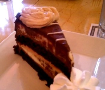 Reese's Peanut Butter/Chocolate Cheesecake - Cheesecake Factory, Overland Park, KS