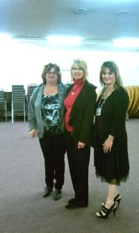 Karen Wells, Doreen Penner, Beth Jones