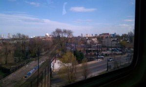 Chicago from subway