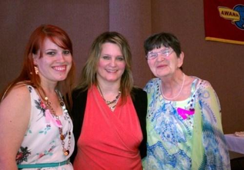 Amber Welton, Beth Jones, and Sue Wilt
