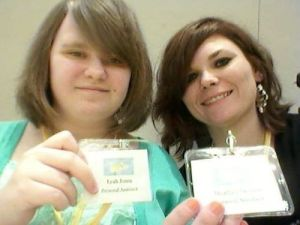 Our daughters Leah & Heather, part of my team